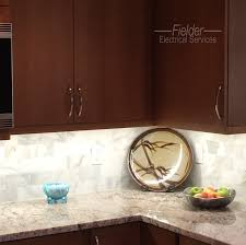 under cabinet led lights under cabinet lighting fielder electrical services inc