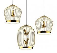 Bird Pendant Light Bird Cage Inspired Lighting Tweetie Pendant L