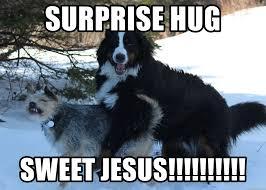 Sweet Jesus Meme Generator - surprise hug sweet jesus surprise hug meme generator
