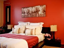 bedroom red bedroom with white bed and white pillows also small bedroom red bedroom with white bed and white pillows also small black bedside table also twin cubical brown table lamps near red wall with natural wall