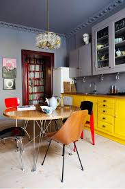 bright kitchen ideas with yellow color bright yellow kitchen kitchen ideas with antique chairs ideas in apartment and antique lamp yellow kitchen interior room
