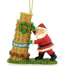 nycwebstore santa and leaning tower of pisa