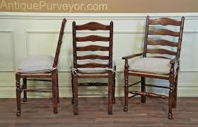Tall Back Chairs by Rustic Ladder Back Chairs With Rush Seats U0026 Upholstered Cushions