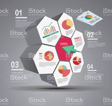 hexagonal data table stock vector art 666826130 istock