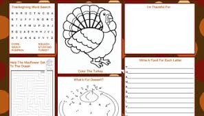 thanksgiving placemats featured easy event ideas