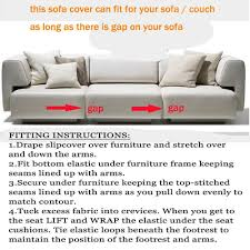 Stretch Chair Sofa Cover 1 2 3 4seater Protector Couch Cover Ful
