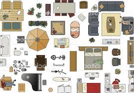 Floor Plan Furniture Exellent Furniture Clipart For Floor Plans Plan Planner Home
