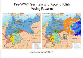 Map Of Europe Pre Ww1 by Poland U0027s Stark Electoral Divide Geocurrents