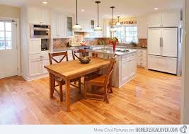 island tables for kitchen 15 beautiful kitchen island with table attached beautiful kitchen