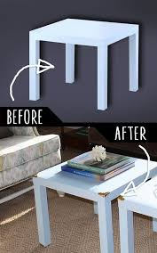 caign style side tables 36 diy furniture makeovers