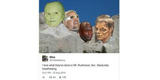 Guy Fieri Meme - most popular meme may be mount rushmore with brady sketch mj guy