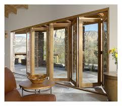 8 Ft Patio Door Patio Exterior Accordion Doors Folding Patio Doors Aluminium With