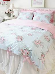 shabby chic duvet cover 3pcs set ruffle bedding shabby and ruffles