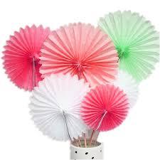 paper fans aliexpress buy 5pcs 35cm big hanging paper pinweels