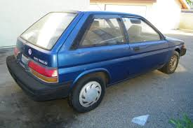 toyota tercel 1990 toyota tercel information and photos momentcar