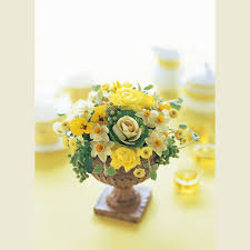 Yellow Home Decor Home Decor Flowers By Florist Michael Skaff Skaff Floral Creations
