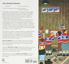 the sweater the hockey sweater roch carrier sheldon cohen fischman