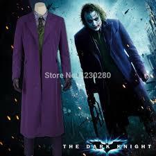 Dark Knight Halloween Costume Halloween Costumes Men Jacket Batman Dark Knight Joker Cosplay