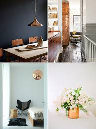 copper decor accents decorating with copper for fall winter decor pinterest