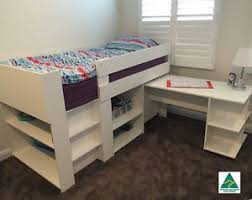 Midi Bunk Beds Bunk Bed Midi Sleeper Cabin Loft Bed With Desk Storage
