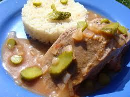 cuisine langue de boeuf langue de boeuf sauce piquante la cuisine à sassenay