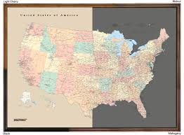 us states detailed map tackamap the bulletin board map