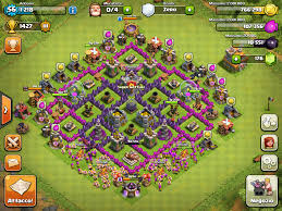 clash of clans farming guide my own compact and symmetrical th7 farming base