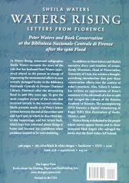 books about the color blue amazon com waters rising letters from florence 9781940965000