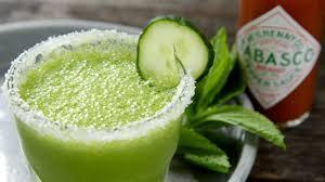margarita tabasco recipes cucumber mint margarita