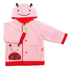 skip hop zoo little kid raincoat ladybug clearance tjskids com