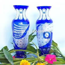 Colored Crystal Vases Footed Glass Vase Footed Glass Vase Suppliers And Manufacturers