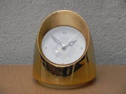 gold jefferson lady marion bullet desk clock replaced motor i
