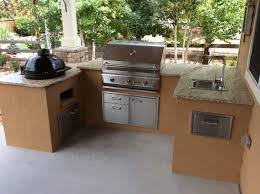 custom outdoor kitchen with pimo smoker grill u2013 hi tech appliance