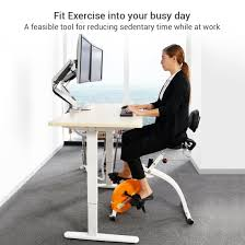 under desk foot exerciser loctek under desk bike upright stationary foldable exercise bike