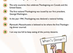 2nd grade thanksgiving worksheets free printables education