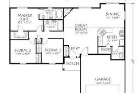 single storey house plans 16 small open floor plans one house with plans small house