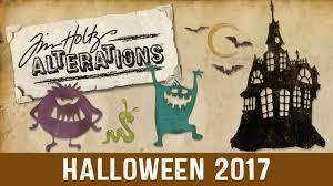halloween date background tim holtz halloween collection 2017 youtube