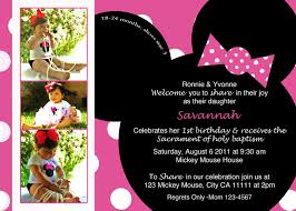 Free Mickey Mouse Baby Shower Invitation Templates - colors minnie mouse birthday invitation cards minnie mouse