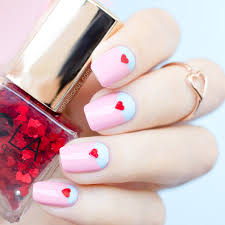 2 easy valentine u0027s day nail ideas with ncla toppers