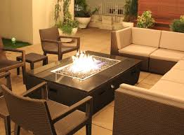 Patio Tables With Fire Pit Custom Outdoor Fire Pit Tables California Cooke Furniture