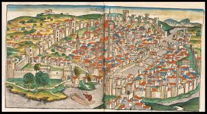 Map Of Florence Italy by Amazing Maps Of Medieval Cities Earthly Mission