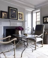 living room myra hoefer gray living room features white