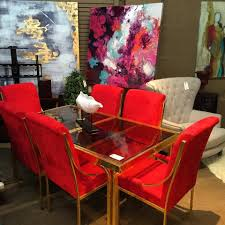 Red Dining Room Table 45 Sophisticated Dining Room Furniture Ideas Which Are Swoon Worthy