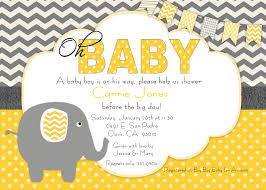 baby shower invitations elephant theme u2013 frenchkitten net