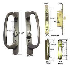Patio Door Handle Lock Patio Door Handle Kit Mortise Lock Faceplate Keepers B Position