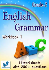 2nd class kids printable worksheets for english grammar