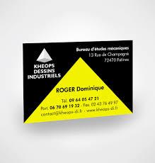 Bureau D Udes Industrielles Conception Carte De Visite Bureau étude Kheops