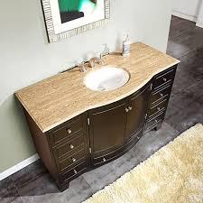 modern single sink vanity bathroom 60 in bathroom vanity top modern on intended for silkroad