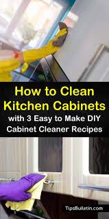 best kitchen cabinet cleaner 3 easy diy ways to clean kitchen cabinets