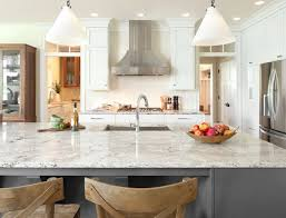 White Cabinets With Grey Quartz Countertops Kitchen Quartz Countertops Quality Stone Granite Imports For